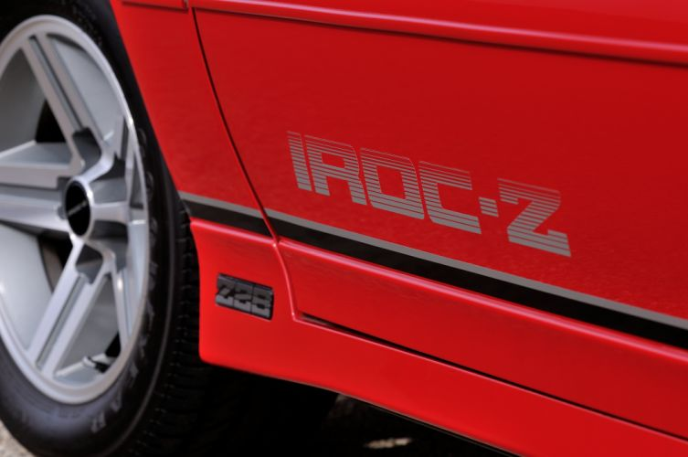1987 Chevrolet Camaro Z28 Convertible Muscle Classic Original Red USA 4288x2848-05 wallpaper