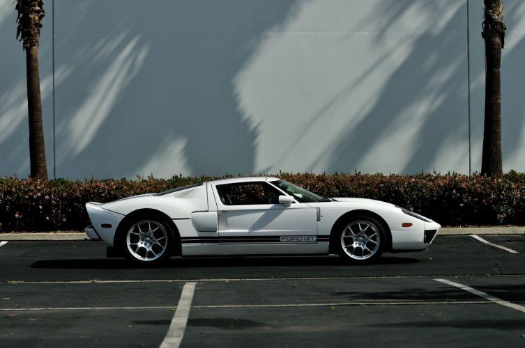 2006 Ford GT Supercar Super Car White USA 4288x2848-02 wallpaper