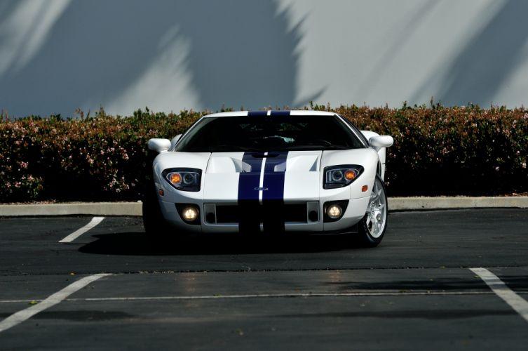 2006 Ford GT Supercar Super Car White USA 4288x2848-07 wallpaper