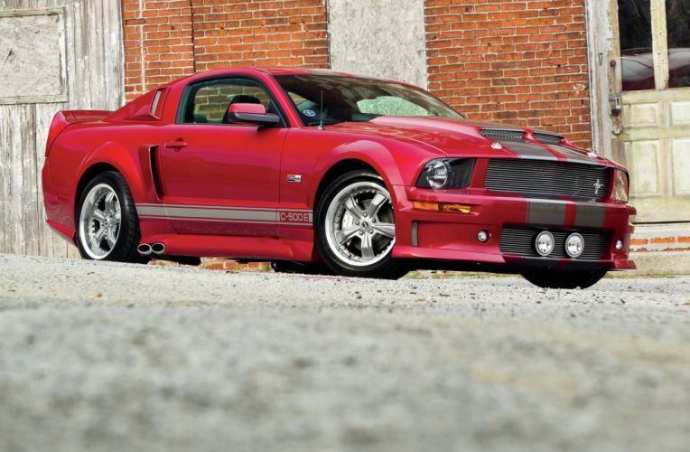 2006 Ford Mustang GT C-500E Muscle Supercar Super Street Red USA-2048x1340-01 wallpaper