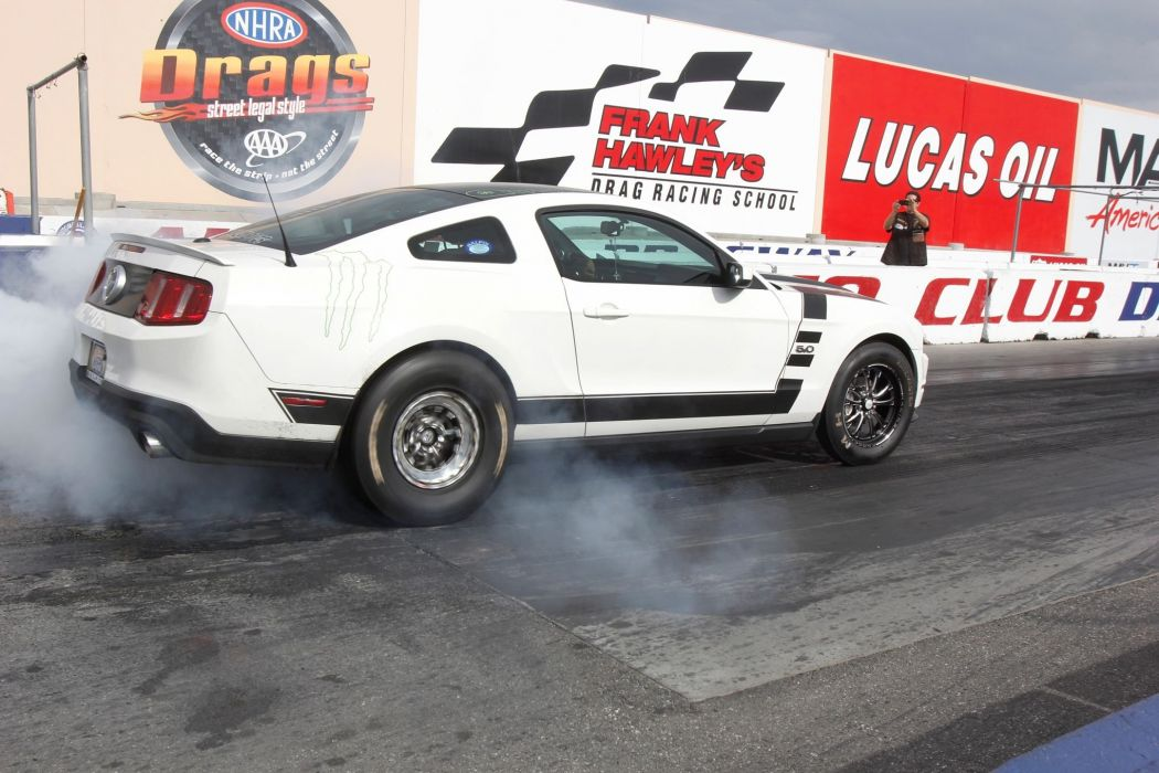 2011 Ford Mustang Drag Dragster Race Racing Burnout USA 2040x1360-01 wallpaper