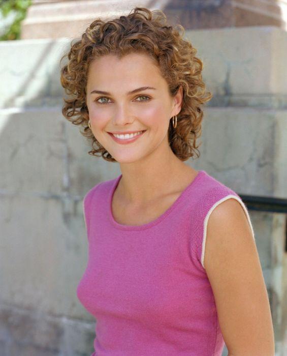Keri Russell actress beautiful girl short hair wallpaper
