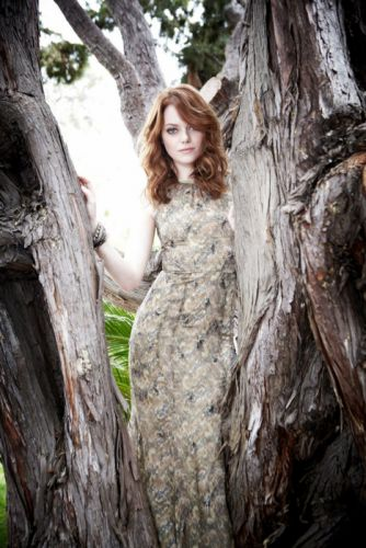 Emma Stone actress beautiful girl long hair wallpaper