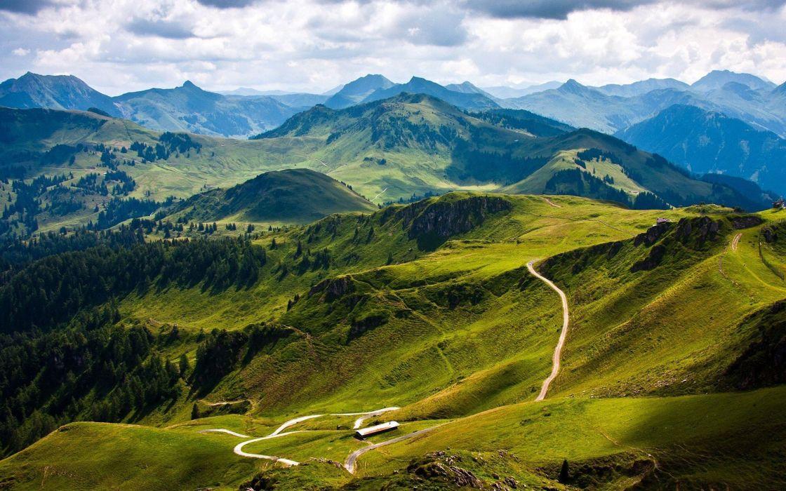 landscapes mountain beauty wallpaper