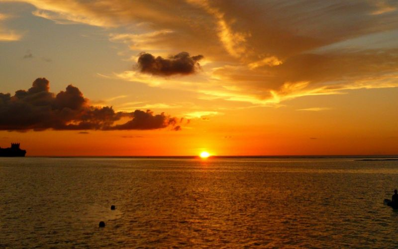 sun-clouds-skies-sunset- wallpaper