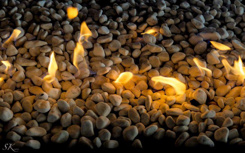 fire stone wallpaper