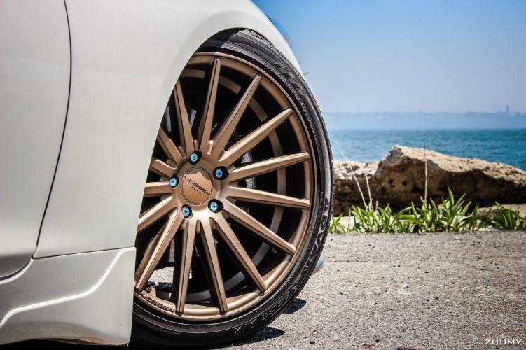 Vossen Wheels cars tuning Infiniti Q50 wallpaper