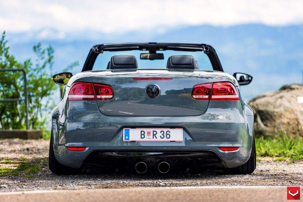 Vossen Wheels cars tuning Volkswagen EOS convertible wallpaper
