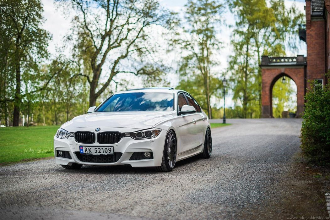 Vossen Wheels Cars Tuning Bmw 3 Series White Wallpaper