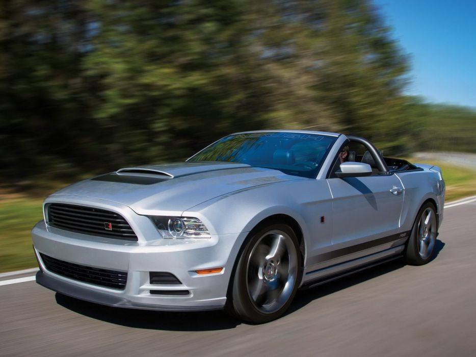 Roush-RS 2013 ford mustang modified convertible cars wallpaper