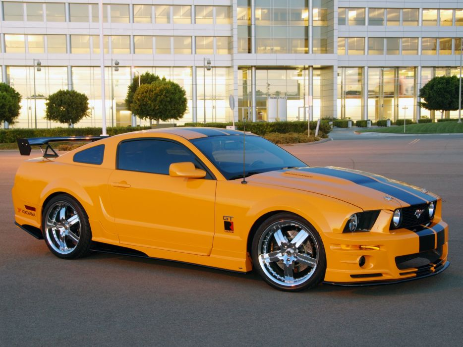 Roush stage-3 2006 ford mustang modified convertible cars wallpaper