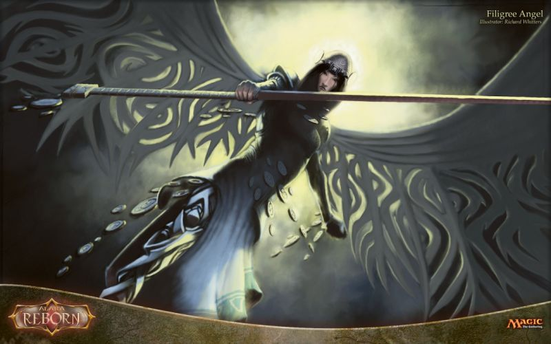 MAGIC GATHERING fantasy artwork art action adventure fighting wallpaper