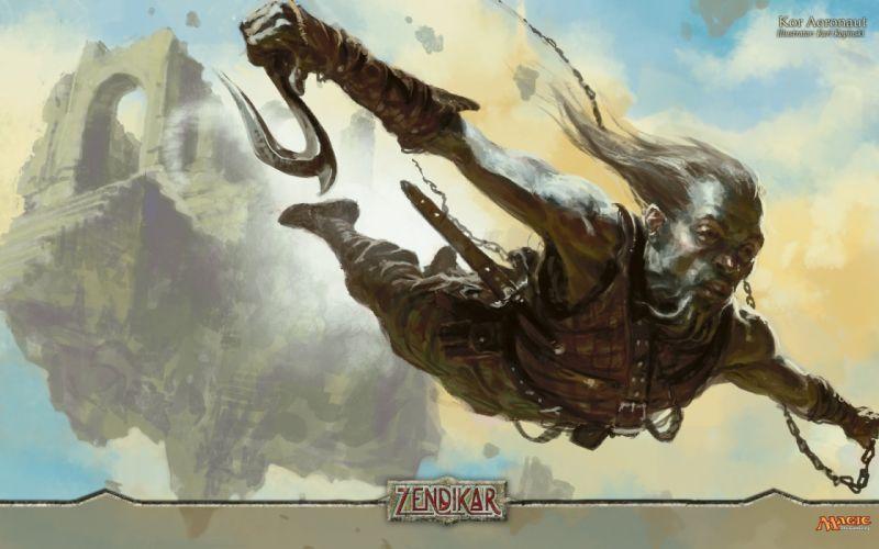 MAGIC GATHERING fantasy artwork art action adventure fighting wallpaper
