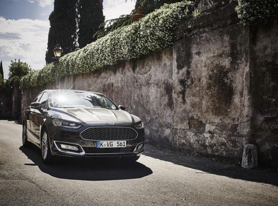 Ford Mondeo Vignale cars sedan 2015 wallpaper