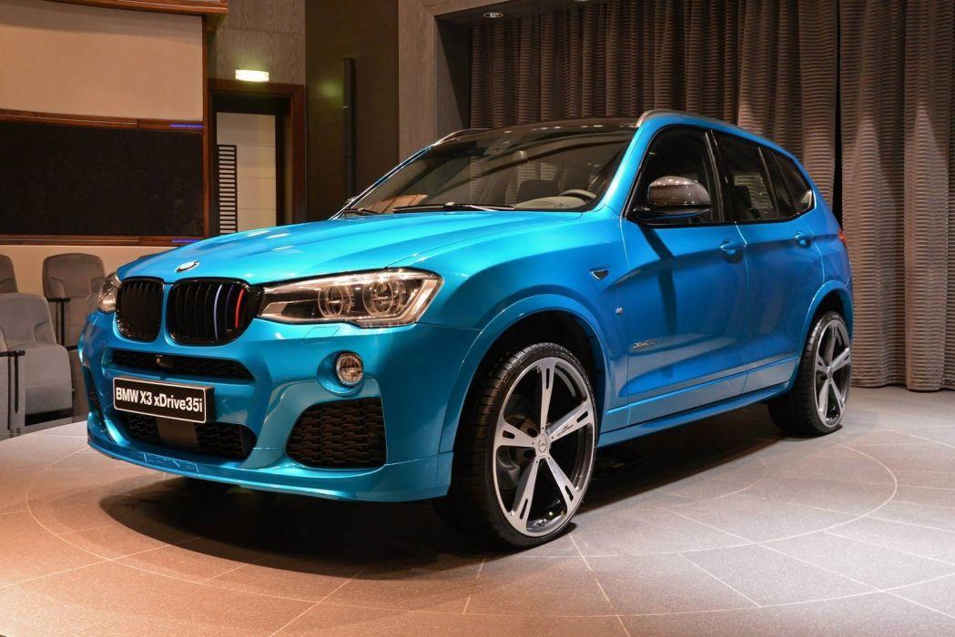 2015 BMW-X3 F25 cars suv blue wallpaper