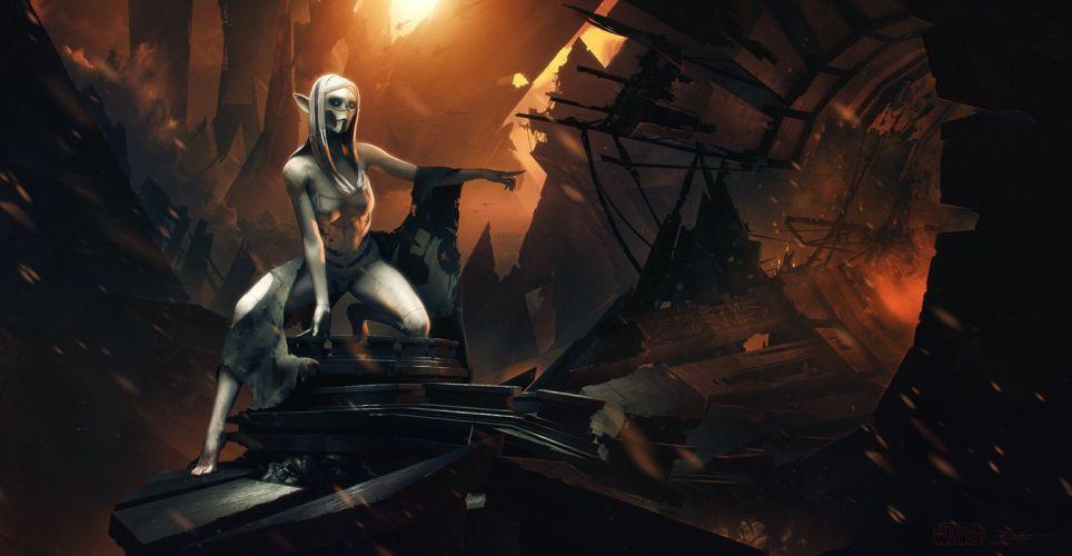sci-fi women artwork girl art wallpaper