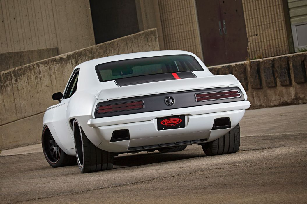 1969 Chevrolet Chevy Camaro Super Street Pro Touring USA 2048x1360-06 wallpaper