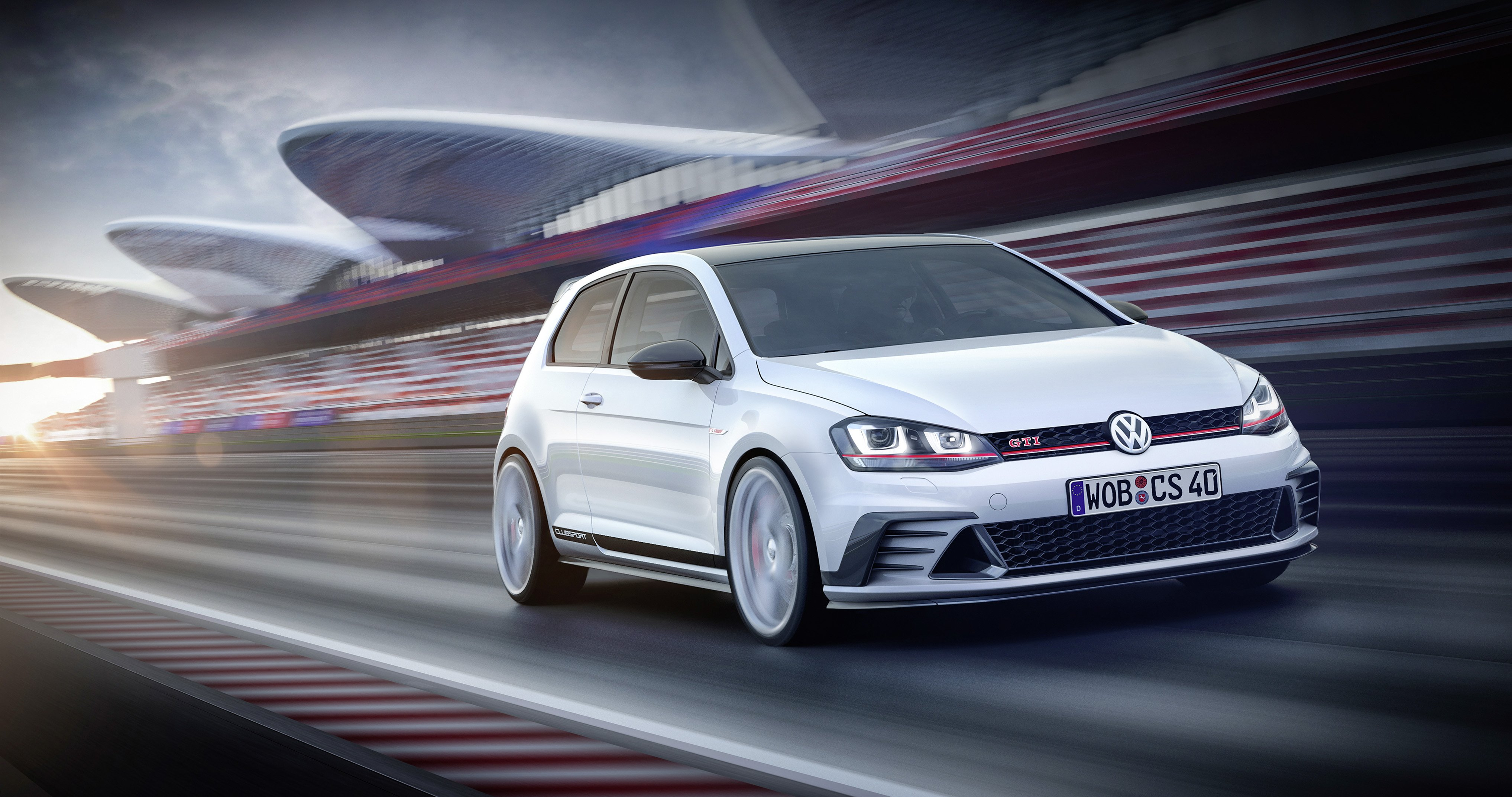 Volkswagen Golf GTI Clubsport Concept Cars 2015 Wallpaper