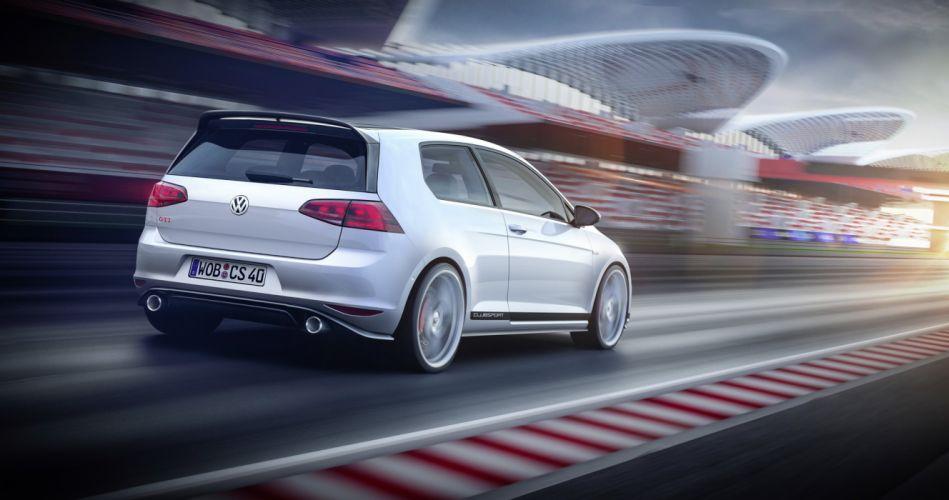 Volkswagen Golf GTI Clubsport Concept cars 2015 wallpaper