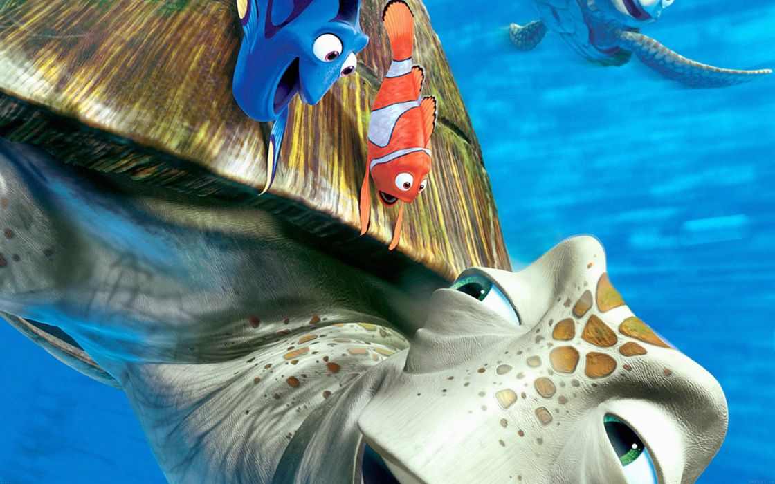 finding-nemo-disney-pixar-illust-sea-animals wallpaper