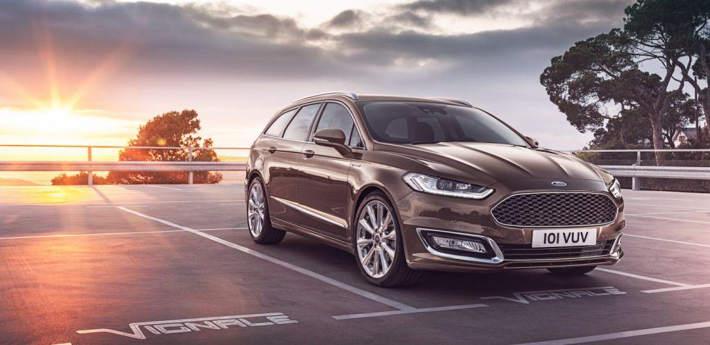 Ford Vignale Mondeo Turnier wagon cars 2015 wallpaper