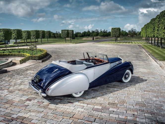 Rolls-Royce Silver Dawn Drophead 1952 cars convertible classic wallpaper