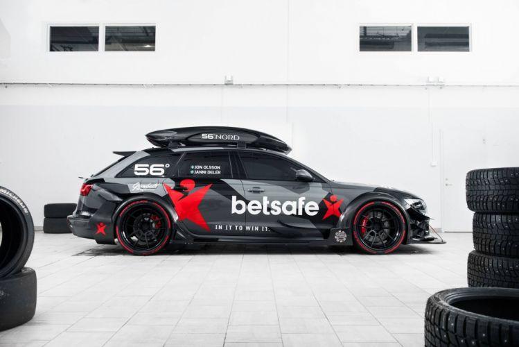 Audi RS6 DTM Jon Olsson cars modified wallpaper