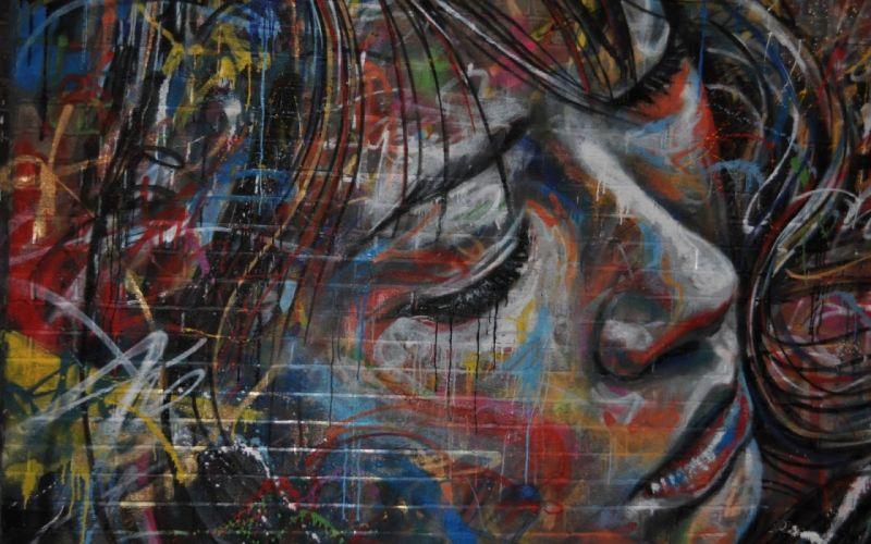 artistic art artwork women female girl girls woman graffiti wallpaper