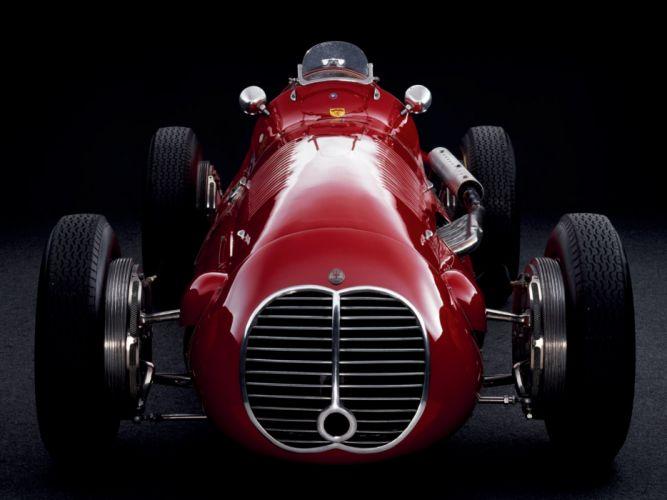 Maserati 4CLT classic cars 1948 wallpaper