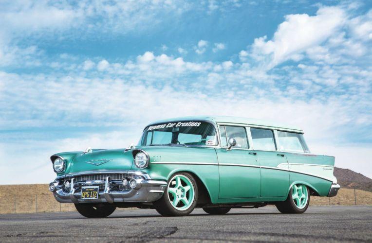 I 77 Chevy >> 1957 Chevrolet Chevy Bel Air Nomad 210 Wagon Pro Street Drag USA 2048x1340-03 wallpaper ...