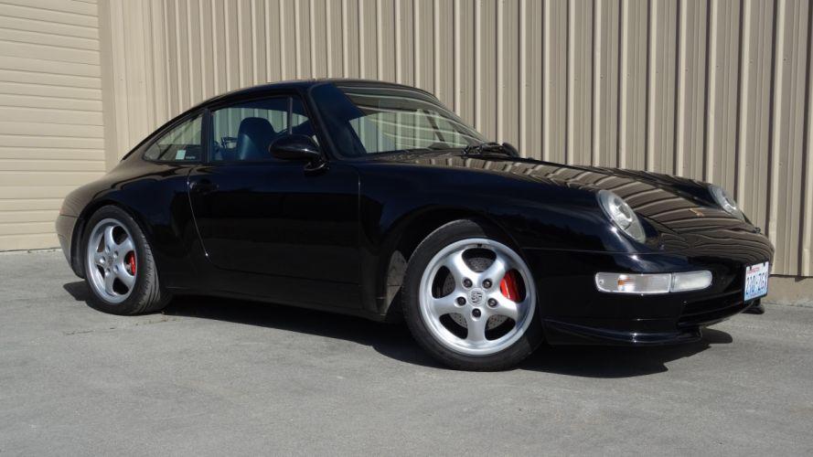 1995 Porsche 911 Carrera Super Car German 5184x2916-03 wallpaper