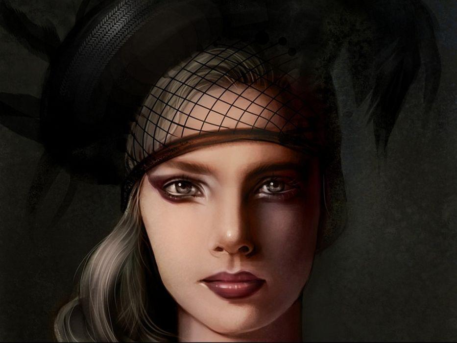 artistic art artwork women female girls girl woman wallpaper