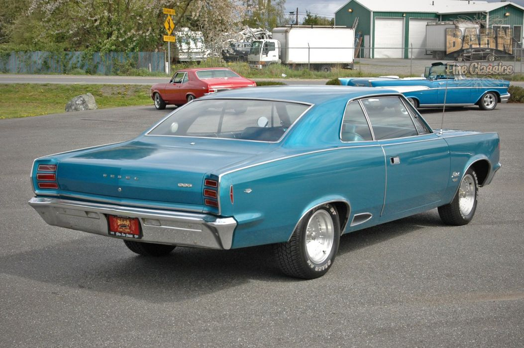 1968 AMC Rebel SST 290 Classic Muscle Old Original USA 1500x1000-02 wallpaper