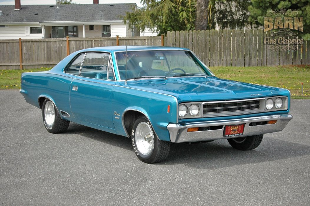 1968 AMC Rebel SST 290 Classic Muscle Old Original USA 1500x1000-07 wallpaper