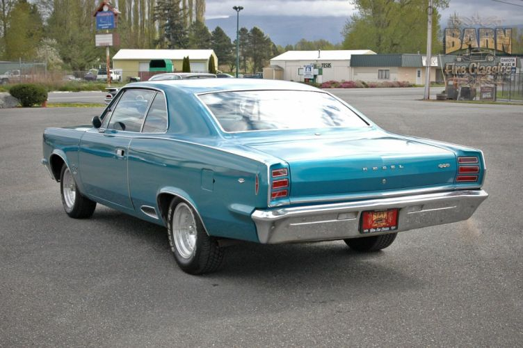 1968 AMC Rebel SST 290 Classic Muscle Old Original USA 1500x1000-24 wallpaper