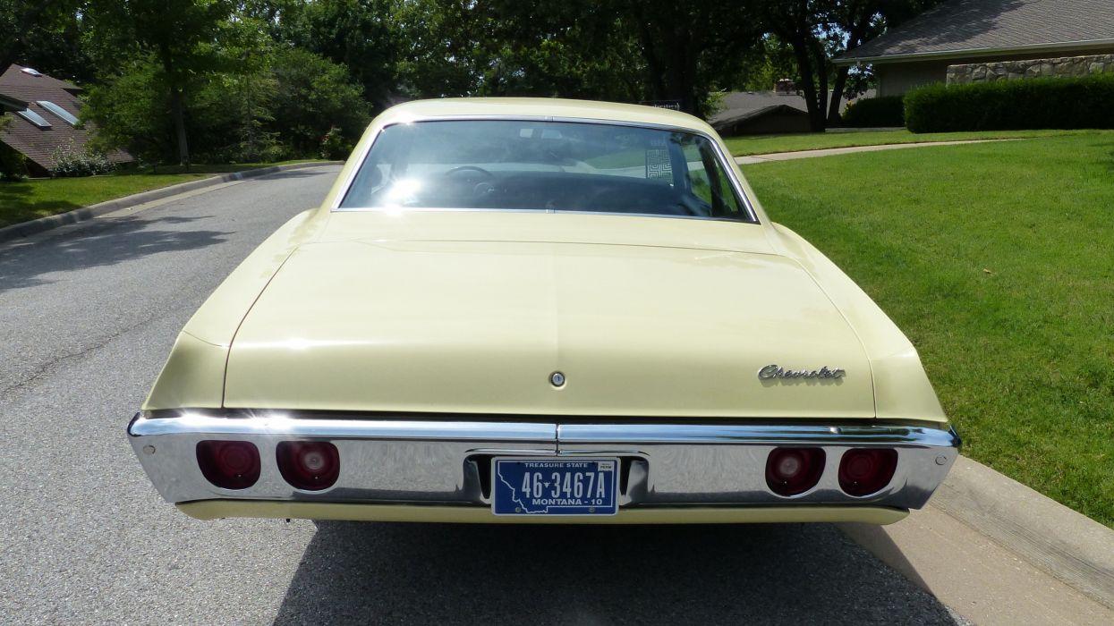 1968 Chevrolet Biscayne Sedan Two Door 427 Classic Old Original USA 4000x2250-05 wallpaper