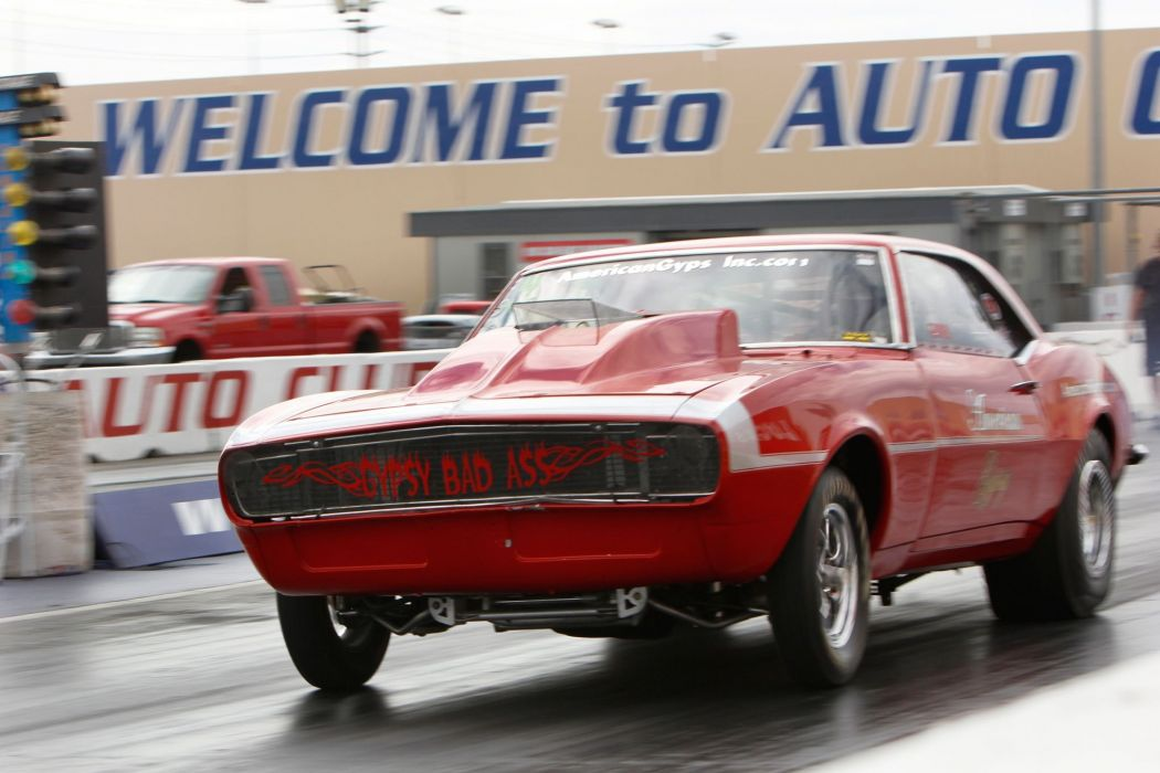 1968 Chevrolet Camaro Drag Dragster Race Racing Burnout USA 2040x1360-03 wallpaper
