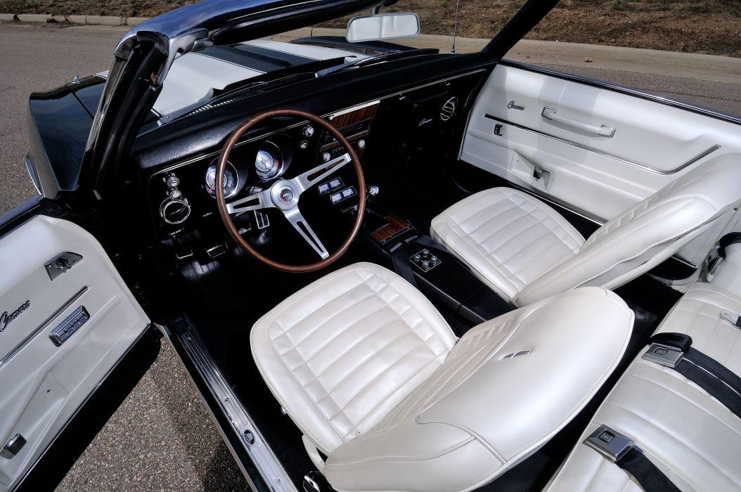 1968 Chevrolet Camaro Z28 Convertible Muscle Classic Vintage Original USA 4288x2848-04 wallpaper