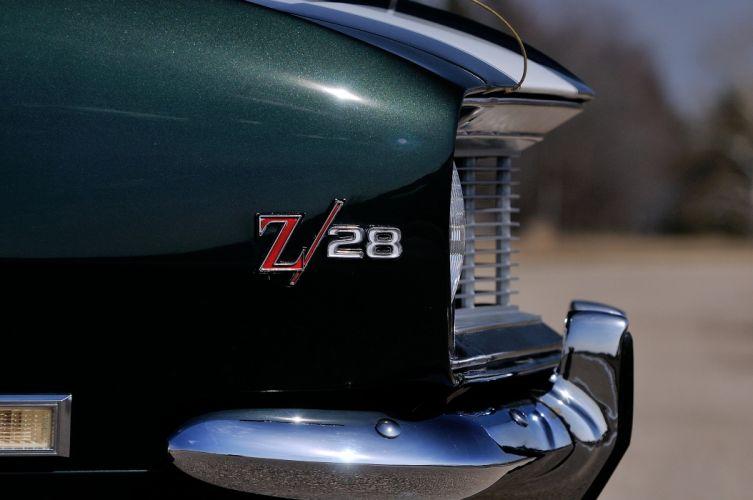 1968 Chevrolet Camaro Z28 Convertible Muscle Classic Vintage Original USA 4288x2848-09 wallpaper