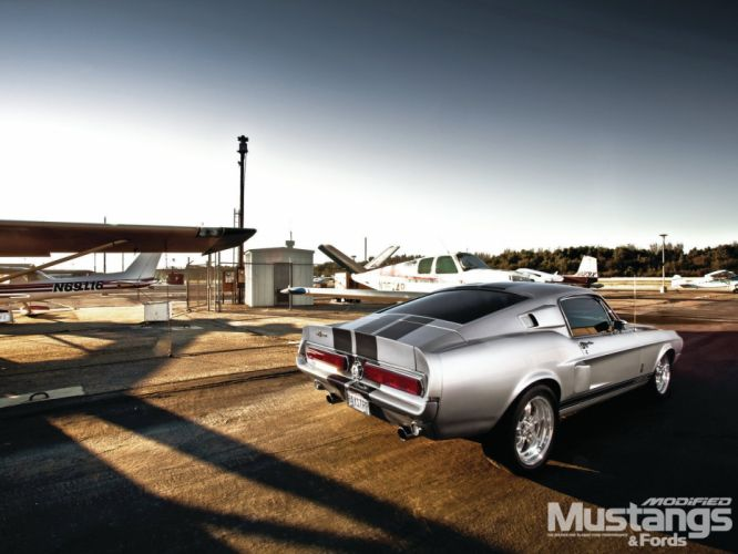 1968 Ford Mustang Fastback Shelby GT 350 Streetrod Street Rod Hot Supercar USA 1600x1220-01 wallpaper