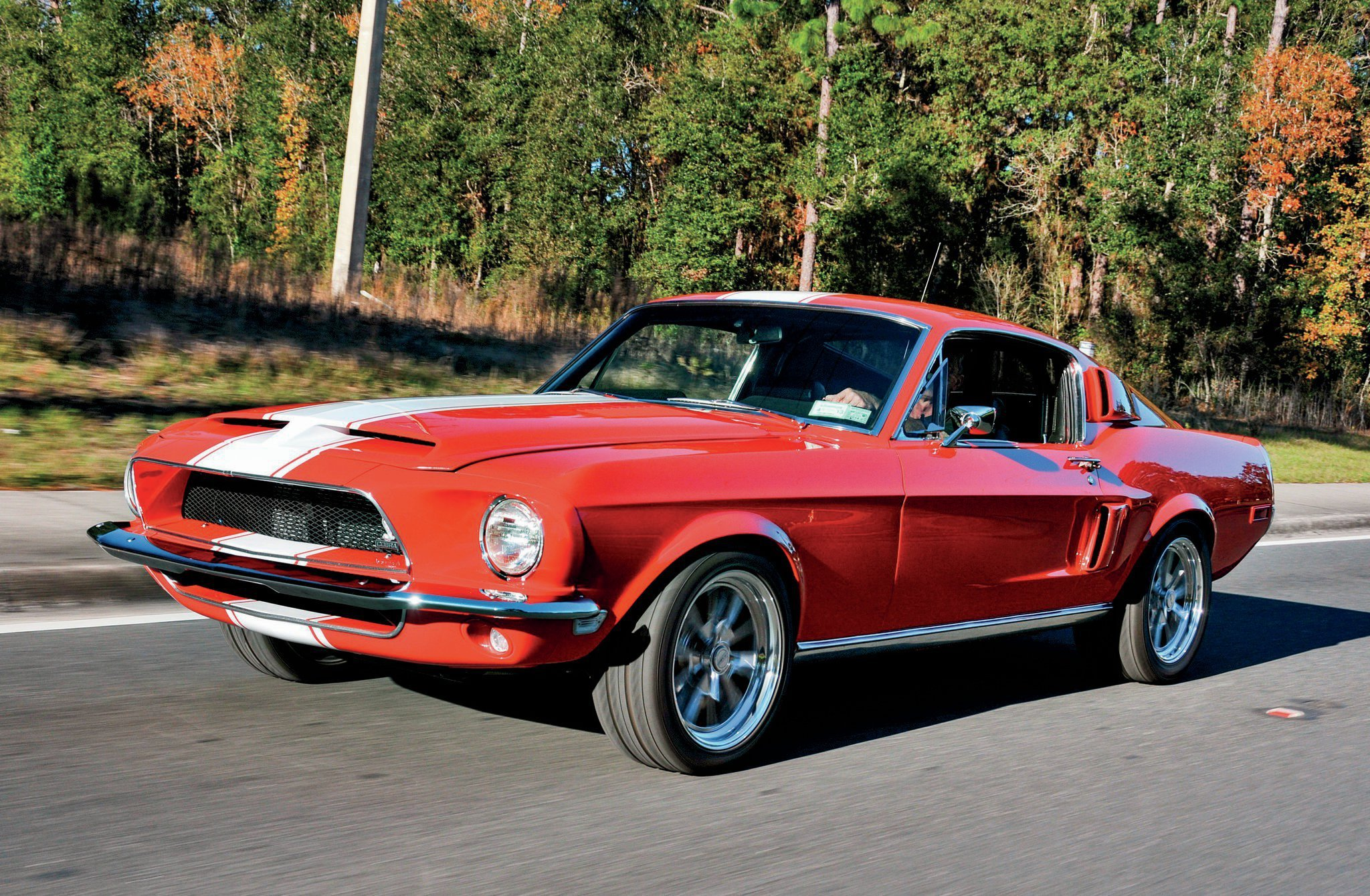 1968 Ford Mustang Fastback Shelby Gt 350 Streetrod Street