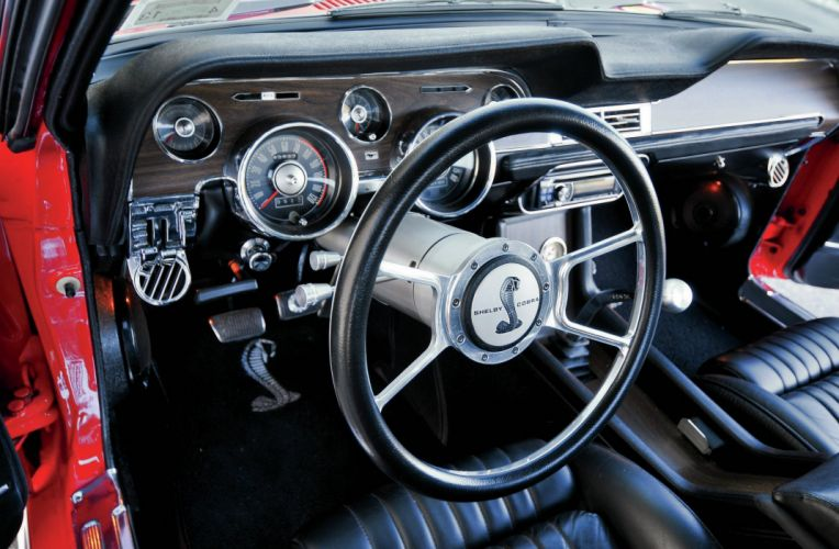 1968 Ford Mustang Fastback Shelby GT 350 Streetrod Street Rod Hot Supercar USA 2048x1340-05 wallpaper