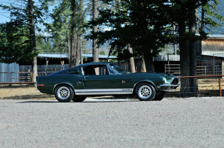 1968 Ford Mustang Shelby GT500KR Fastback Muscle Classic Old Original USA 4288x2848-10 wallpaper