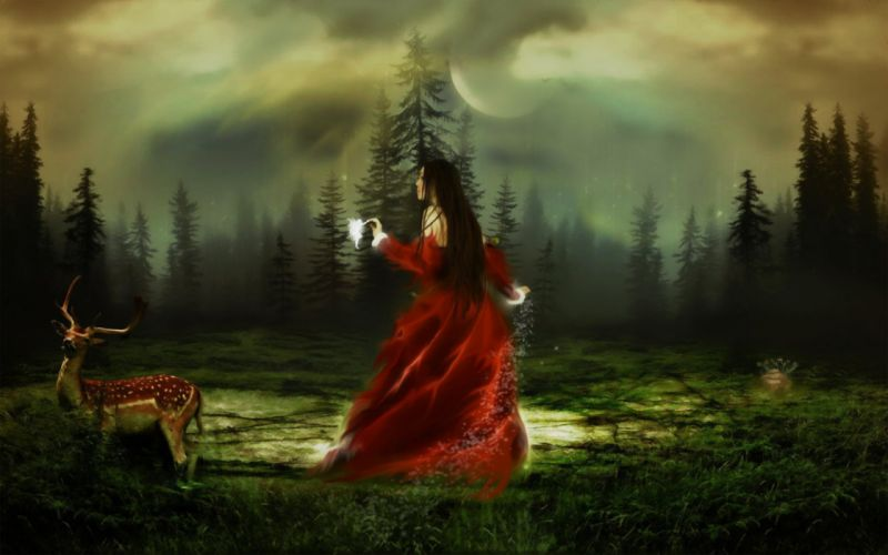 hada de los bosques wallpaper