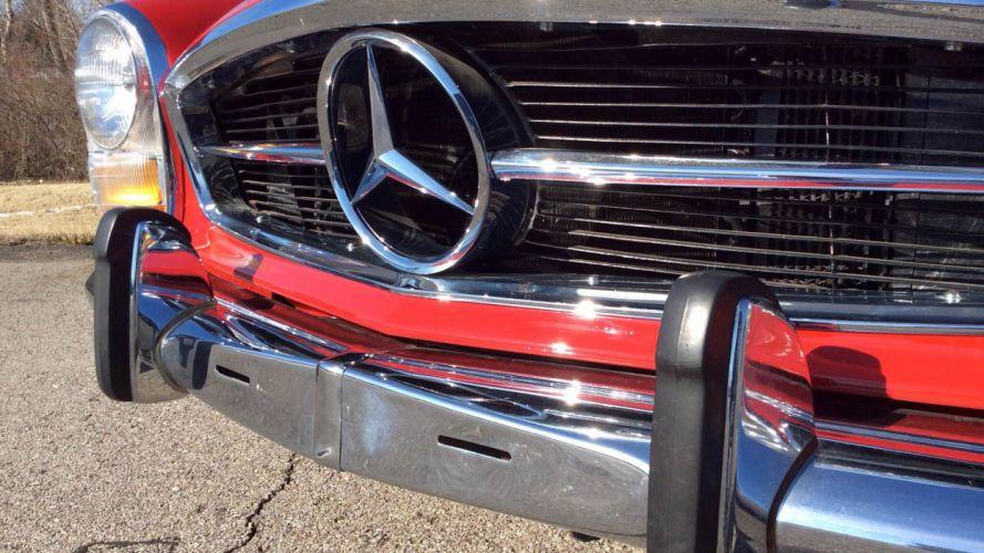 1969 Mercedrs Benz 280SL Classic Old Original 2056x1156-06 wallpaper