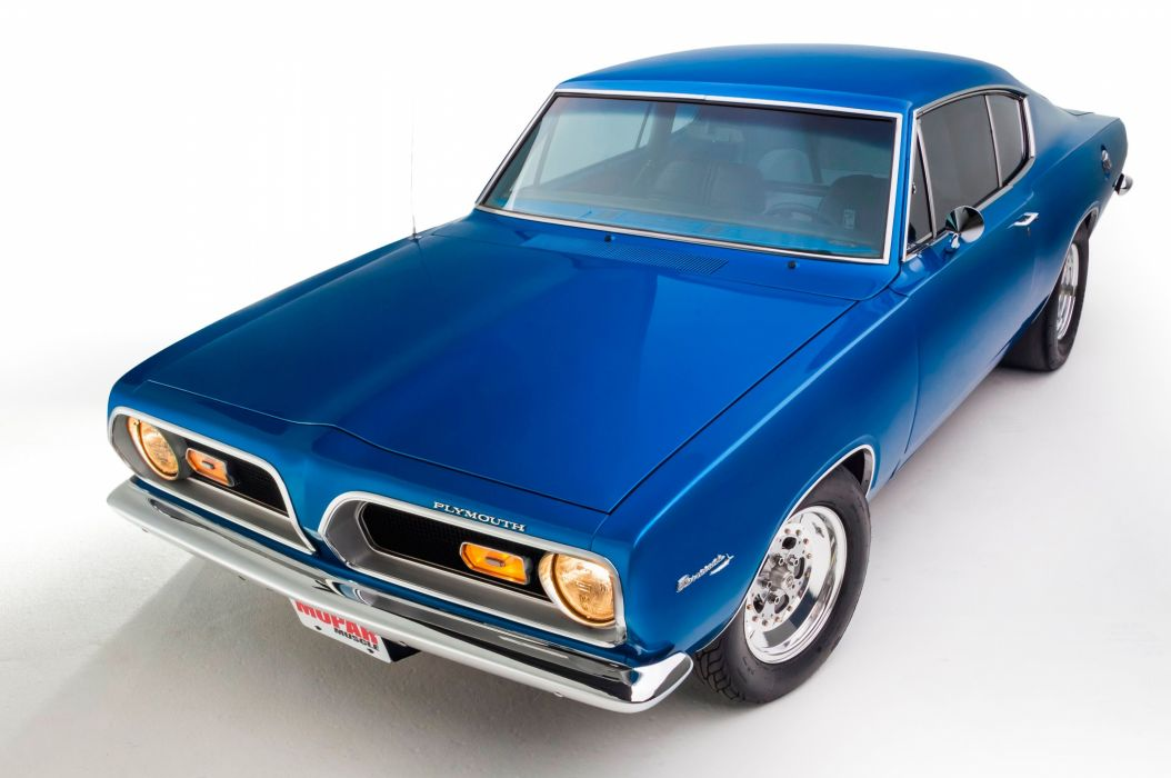 1969 Plymouth Barracuda Muscle Hotrod Streetrod Blue Hot Rod Street Drga USA 5120x3401-02 wallpaper
