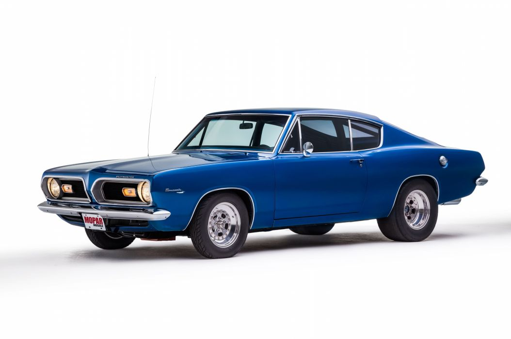 1969 Plymouth Barracuda Muscle Hotrod Streetrod Blue Hot Rod Street Drga USA 5120x3401-03 wallpaper