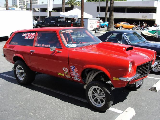 1972 Chevrolet Chevy Vega Wagon Pro Stock Drag Dragster Race Racing Gasser USA 1600x1200 wallpaper