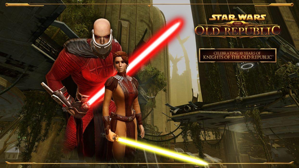 Star Wars Knights Old Republic Sci Fi Futuristic Action Fighting Warrior Wallpaper 1920x1080 686458 Wallpaperup
