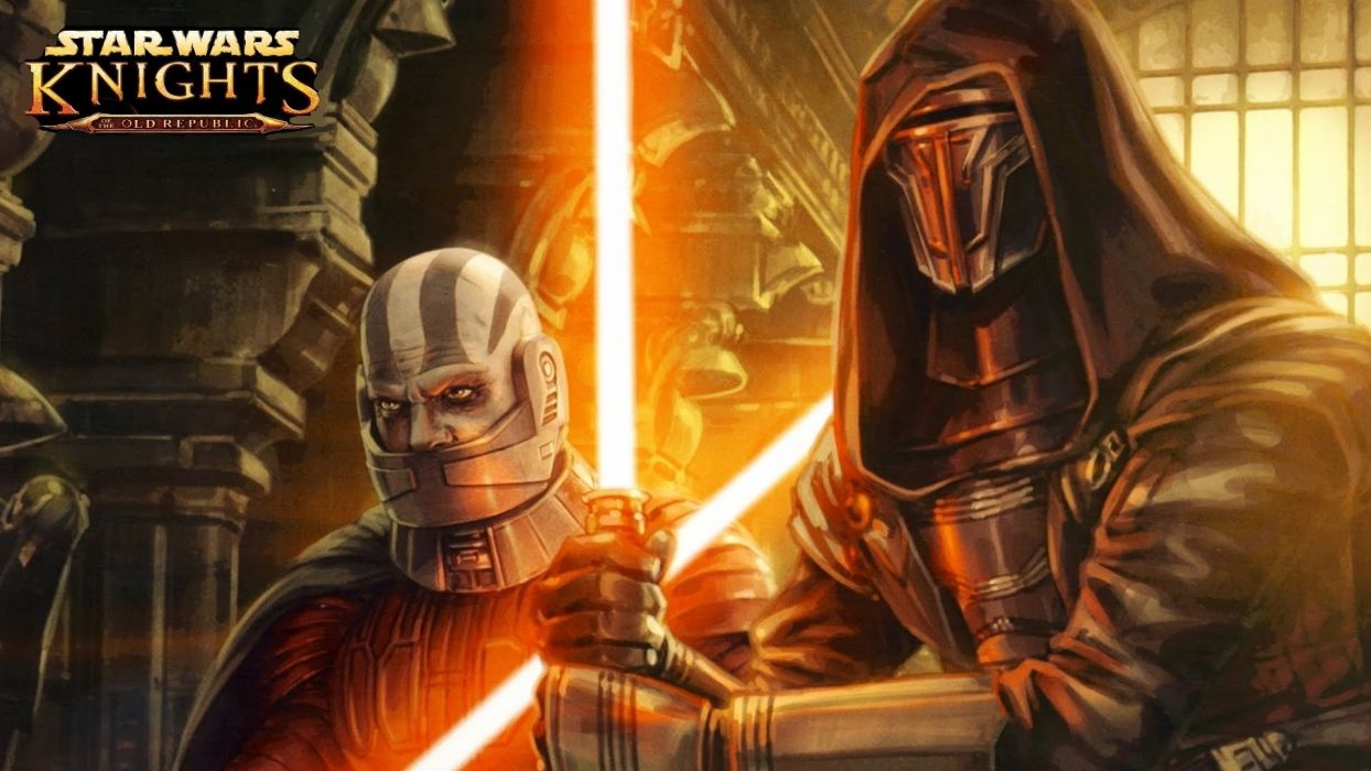 star wars knights old republic sci-fi futuristic action fighting